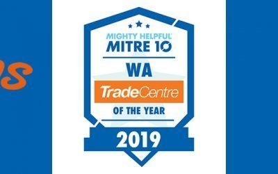 Thorntons Mitre 10 wins WA Trade Store Of The Year Award