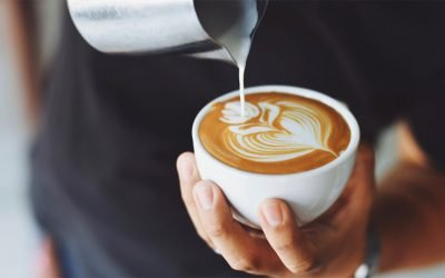 Where can I go in Denmark to get a coffee?